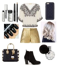 """""""Untitled #4"""" by alexandrademian ❤ liked on Polyvore featuring Lanvin, Nly Shoes, Love Sam, MCM, Bobbi Brown Cosmetics and Tory Burch"""