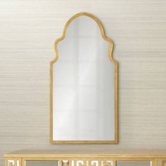 "Cooper Classics Lincoln 19 3/4"" x 38"" Gold Wall Mirror - #1G244 