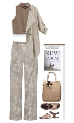 """New Casual'"" by dianefantasy ❤ liked on Polyvore featuring Raquel Allegra, Zara, Marni, casualoutfit, inspiration and polyvoreeditorial"