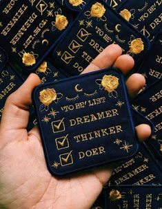 Harry Potter Ravenclaw House Style Dreamer Thinker Doer Patch by EurekartStudio on etsy. Pin And Patches, Iron On Patches, Jacket Patches, Ravenclaw, Be Wolf, Diy Papier, Embroidery Patches, Embroidered Patch, Cute Pins