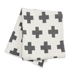 Found it at AllModern - Swiss Cross Throw Blanket