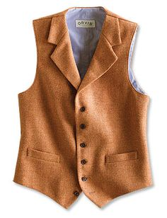 Just found this Mens Wool Tweed Six-Button Vest - Snake River Tweed Vest -- Orvis on Orvis.com!
