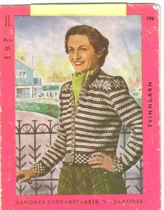 Fana - so traditional and satisfying! Knitting Designs, Knitting Patterns, Crochet Patterns, Knitting Ideas, Crochet Cardigan, Knit Crochet, Embroidery Patterns, Stitch Patterns, Norwegian Knitting