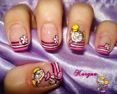 (9) Diseños de uñas de gel