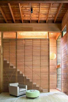 Cool stair screen.