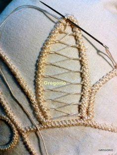 Więcej Pinów na Twoją tablicę Romanian point lace - Poczta Irish Crochet, Crochet Motif, Crochet Unique, Romanian Lace, Lace Art, Point Lace, Needle Lace, Ribbon Embroidery, Reborn Babies