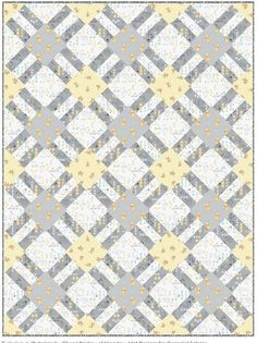 = free pattern = Cracker Lattice quilt at Camelot Fabrics