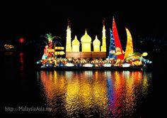 Magic of the Night Boat Parade 2012 at Putrajaya, Malaysia
