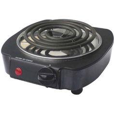 Dominion D93525 Single Coil Burner, 1000-watt, Black