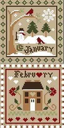 Little House Needleworks - January & February