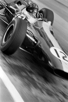 Jim Clark, Monaco Grand Prix, 10 May, 1964 by Patrick Lichfield