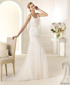 Pronovias 2013 Pre-Collection Wedding Dresses  Fashion, Costura Bridal Collections