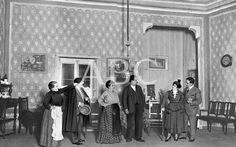 Madrid. 13/04/1917. En el Teatro Cómico. Una escena de la obra, de Carlos Arniches, «La venganza de la Petra»
