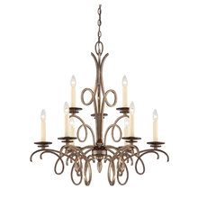 View the Savoy House 1-6772-9 Transitional 9 Light Two Tier Chandelier with Ivory Candle Covers from the Thyme Collection at LightingDirect.com.