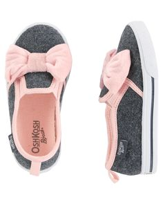 OshKosh Slip-On Bow Sneakers