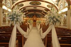 romantic wedding decorations on a budget | CH 007 05 Photos of Church Wedding Decorations Ideas
