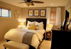 cream bedroom color scheme