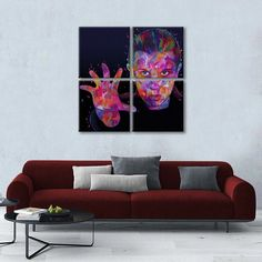 Eleven II Multi Panel Canvas Wall Art will inspire you to learn from your favorite public figure. Welcome this high-quality canvas print into your home, to express your personality and interests. Artist Canvas, Artist Painting, Artist Art, Canvas Size, Canvas Wall Art, Canvas Prints, Create Canvas, Indie Art, Black Artists