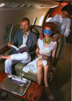 In a private jet - Explore the World with Travel Nerd Nici, one Country at a Time. http://TravelNerdNici.com