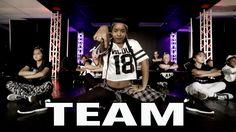 """TEAM"" - Iggy Azalea Dance Video   Choreographed by Matt Steffanina - featuring the cast of my new show Dance-Off Juniors!! ▶ Watch ""Dance-Off Juniors"" here!..."
