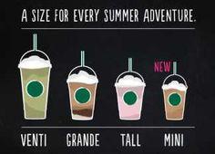 New Starbucks Frappuccino Size | The Mini Frappuccino!