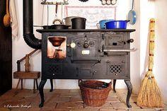 Antigüa cocina de leña.