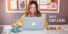 How to Start a Blog - I shared a number of my tips on how to start a blog and get your thoughts out there! Rachel Hollis, The Chic Site, Think And Grow Rich, The More You Know, Growing Your Business, Writing A Book, How To Start A Blog, Blog Tips, Life Skills
