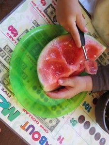 Mellon Balling Montessori Up - great activity for fine motor skills