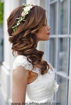 15.Hochzeit Lange Frisur