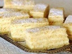 Hungarian Desserts, Hungarian Recipes, Good Food, Dessert Recipes, Food And Drink, Cooking Recipes, Sweets, Snacks, Ethnic Recipes