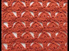 Crochet : Punto Combinado # 4 - YouTube