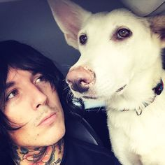 I just want someone to look at me the way Oli looks at his dog.