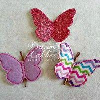bobby pin butterflys