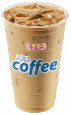 Mocha Iced Coffee from Dunkin Donuts