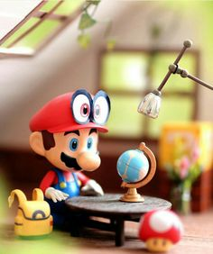 Discover recipes, home ideas, style inspiration and other ideas to try. Super Mario Bros, Super Mario World, Super Smash Bros, Mario Kart, Mario Y Luigi, Mini Mario, Anime Figures, Action Figures, Nintendo World