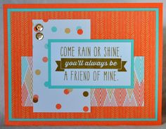 DAT'S My Style: National Papercrafting Month - Year >> Noted Blog Hop #D1634RainOrShine