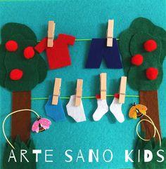 Quietbook/Libro sensorial by Arte Sano KIDS. Juguetes sensoriales y educativos hechos a mano. Visita nuestra página de Facebook.  Instagram: @artesanokids
