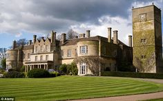Early morning dip: Lucknam Park Country House Hotel in Wiltshire was placed at number 13