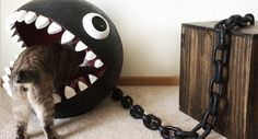 Culture: Awesome Chain Chomp Cat Bed | G33k-HQ