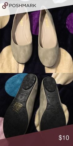 NWT women's flats Never worn. NWT comes with box. Suede. Brand is for views Forever 21 Shoes Flats & Loafers