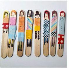 Popsickle sticks