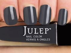 Julep Mona — Classic with a Twist: Storm cloud grey crème