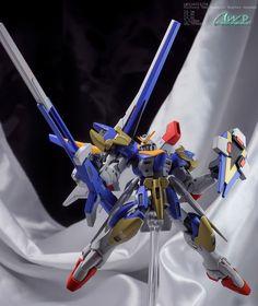 GUNDAM GUY: HGUC 1/144 V2 Assault Buster Gundam - Customized Build