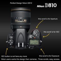 This very likely fake 'wish list' image of the D810 appeared online yesterday, and it's got a lot of users hoping Nikon will listen and add a dedicated ISO scroll wheel to the top plate. http://petapixel.com/2014/06/18/likely-fake-photo-nikon-d810-shows-online-features-top-plate-iso-wheel/