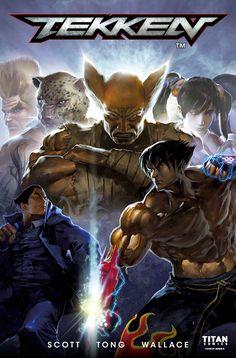 Tekken All-new comic series based on the iconic fighting franchise! Tekken 4, Tekken Cosplay, King Of Fighters, Tekken Wallpaper, Comic Book Covers, Comic Books, Tekken Tag Tournament 2, Street Fighter Tekken, Jin Kazama