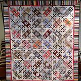 Quiltville's Quips & Snips: Tumelo Trail - check out the various color combinations from Bedford PA