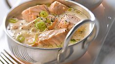 Recette classique : Blanquette de saumon