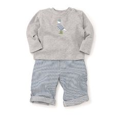 Buy Sale > The Little White Company > Baby Boy Seagull Graphic T-Shirt from The White Company