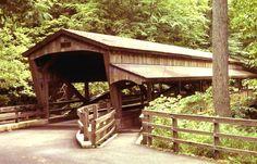 Lanterman's Mill Covered Bridge, Mill Creek Park