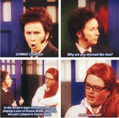 """Welcome to Britain, where we make spoof sketches of spoof sketches of shows"" <<<< This was pretty awesome. You gotta love Catherine Tate!"